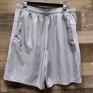 Reebok Athletic Gym Shorts Size XL Gray